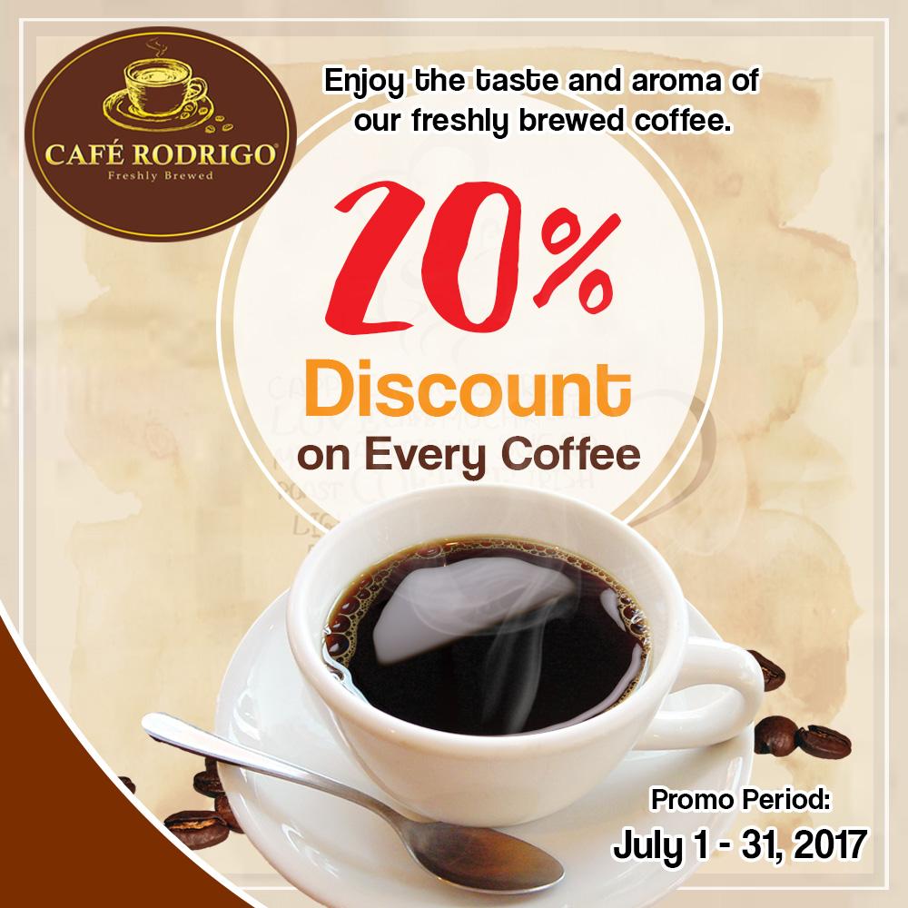 Cafe Rodrigo Promo