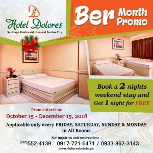 Ber Month Promo