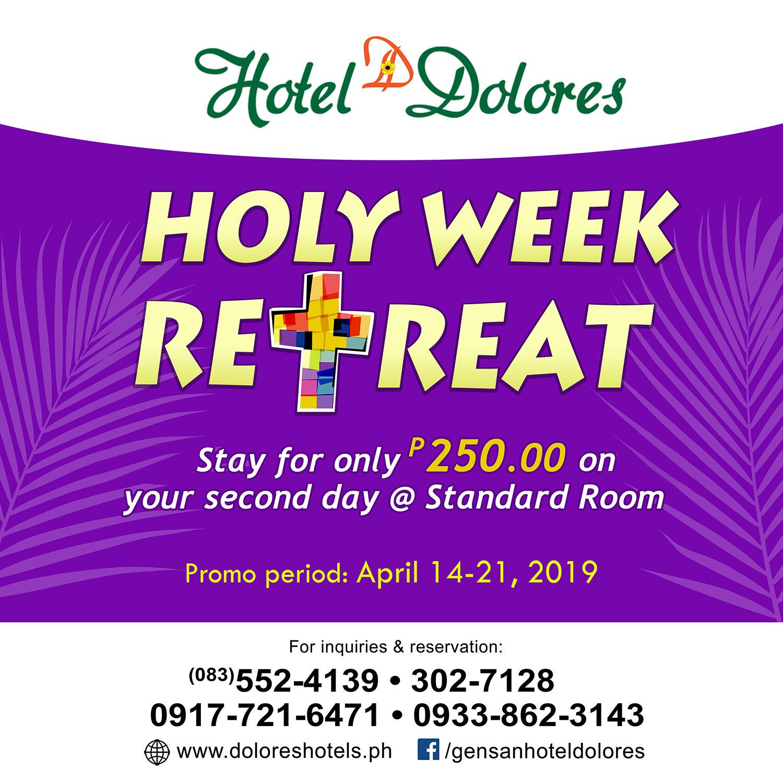 HD Holy Week promo